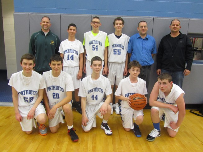 JV White - Team Photo